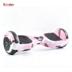 self balance scooter with 6.5 inch smart wheel bluetooth speaker bag graffiti color led light