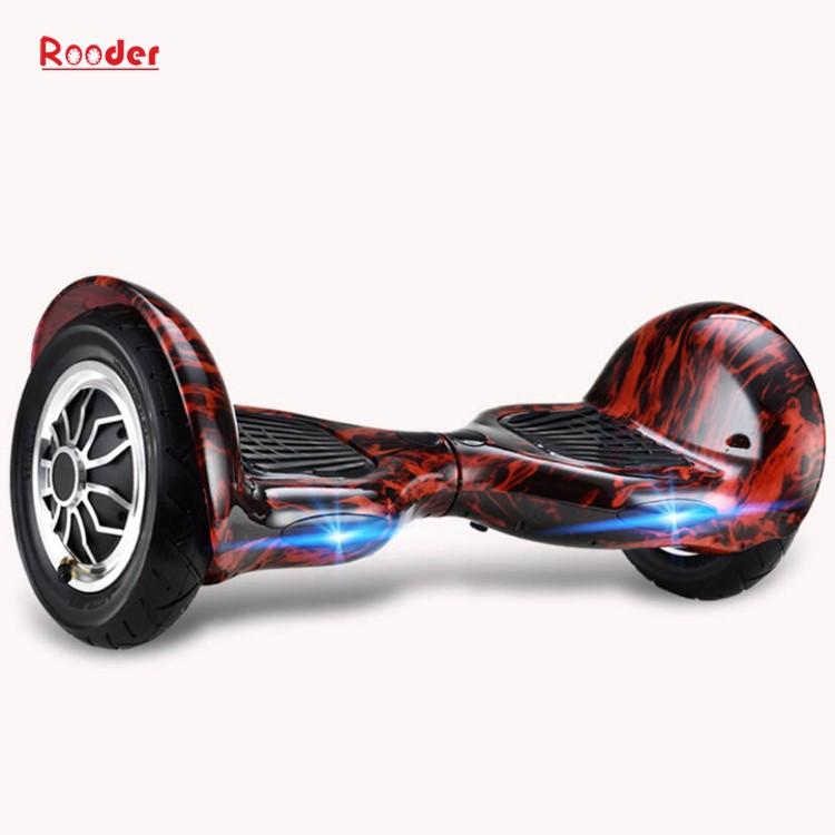 hoverboard 700 Watt 10-Zoll-Motor Bluetooth Lautsprecher Samsung Batterie-LED-Leuchten bunt von Rooder Technologie Lieferant Werk Hersteller Exporteur (4)