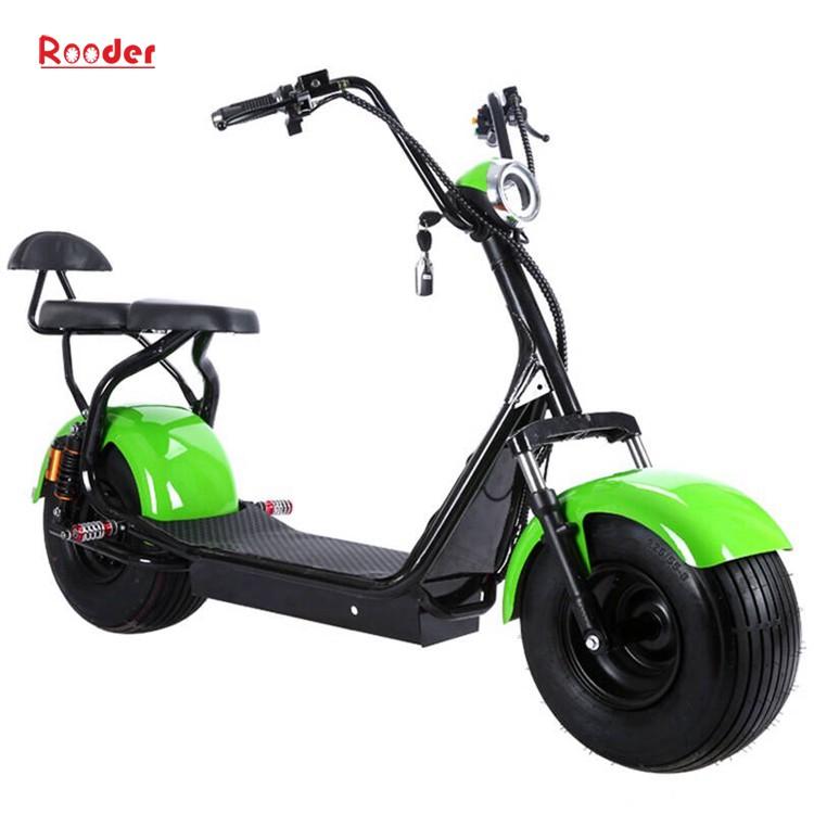 hindistancevizi Çin ucuz şehirden yetişkin için CE 1000w 60V lityum pil ve 2 büyük teker şişman lastik harley elektrikli scooter r804 harley elektrikli motosiklet bisiklet Rooder fabrika citycoco (6)