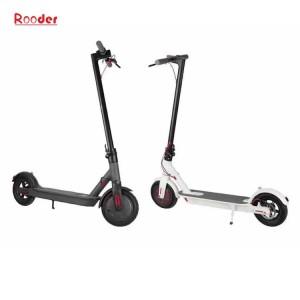 salokāms elektriskās mobilitātes motorollera r803x ar diviem 8,5 collu diski ar litija bateriju priekšā aizmugurē LED gaismas