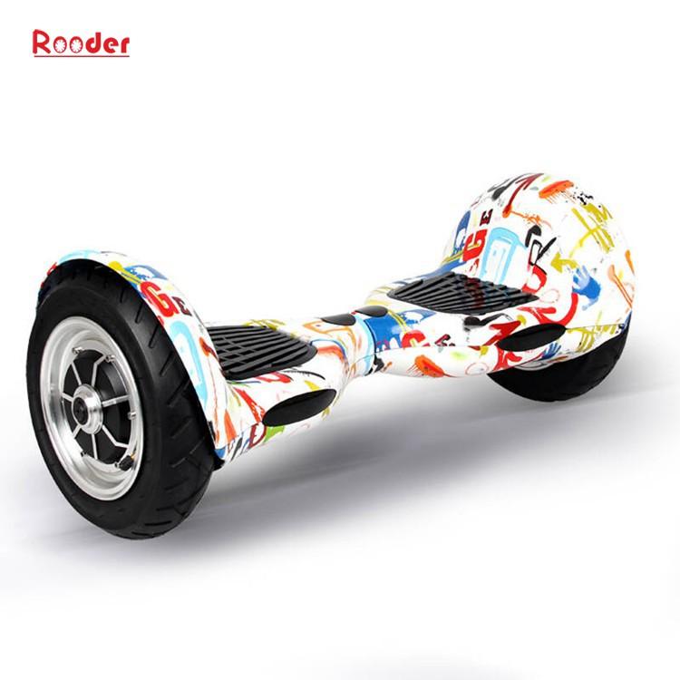 hoverboard 700 Watt 10-Zoll-Motor Bluetooth Lautsprecher Samsung Batterie-LED-Leuchten bunt von Rooder Technologie Lieferant Werk Hersteller Exporteur (5)