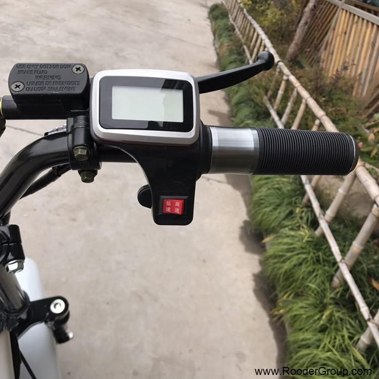 2 ratų suaugusiųjų elektrinis motoroleris su CE FCC RoHS sertifikavimo priekinis amortizatorius riebalų padangų 1000W varikliu 48V 60V 72V ličio baterija nuo Harley miesto kokoso gamintojo (10)