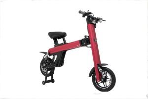 Electric Stigo folding bike with diso brake turn signal lights 250W