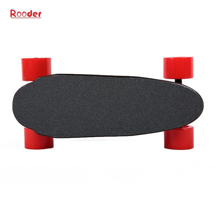 mini 4 kotača električni skateboard sa 24V litij baterija 3kgs samo veleprodajna cijena od Rooder 4 kotača električni skateboard tvornica proizvođača dobavljača (5)