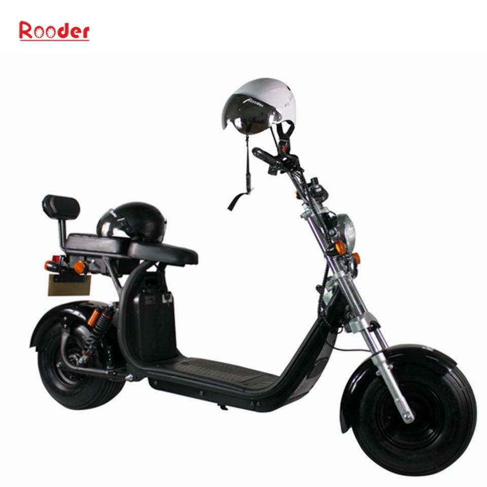 COC godkännande citycoco 1500W elektrisk skoter med säte från Kina Featured Image