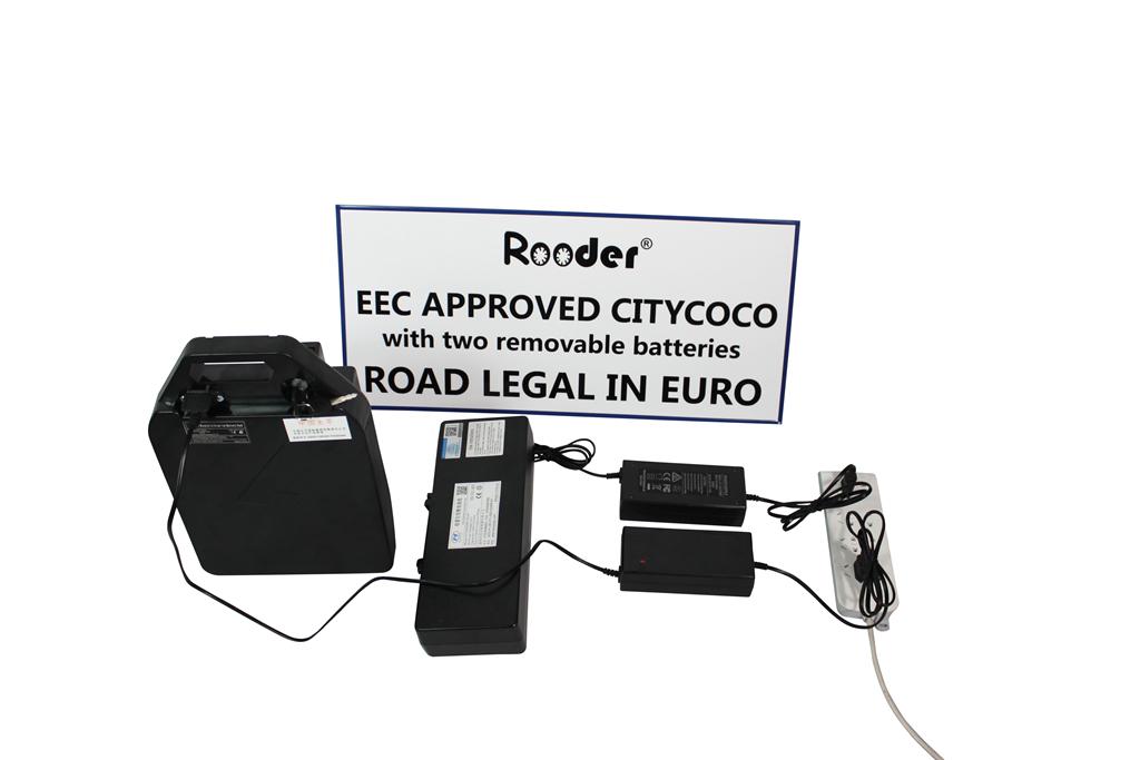Att hitta Rooder citycoco elektrisk skoter för vuxna med COC godkännande från Kina COC godkännande citycoco fabrik, professionell COC godkännande citycoco leverantör.