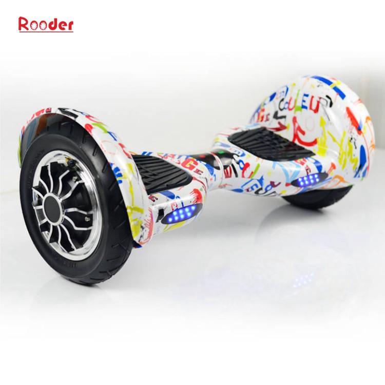 hoverboard 700 Watt 10-Zoll-Motor Bluetooth Lautsprecher Samsung Batterie-LED-Leuchten bunt von Rooder Technologie Lieferant Werk Hersteller Exporteur (7)