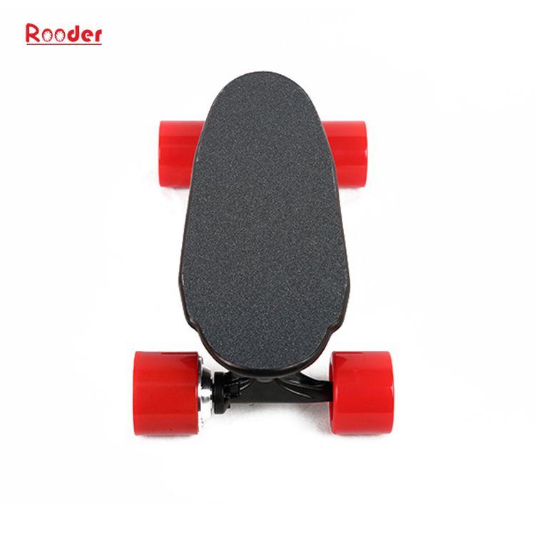 mini 4 kotača električni skateboard sa 24V litij baterija 3kgs samo veleprodajna cijena od Rooder 4 kotača električni skateboard tvornica proizvođača dobavljača (3)