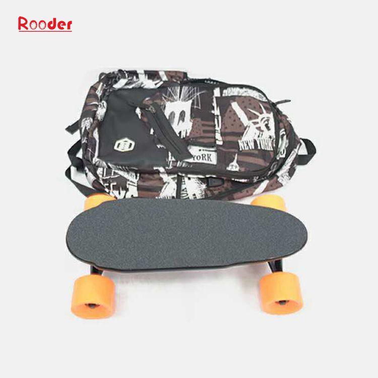 mini fire hjul elektrisk skateboard med 24v litiumbatteri 3kgs bare engros-pris fra Rooder fire hjul elektrisk rullebrett fabrikk Produsenten leverandør (11)