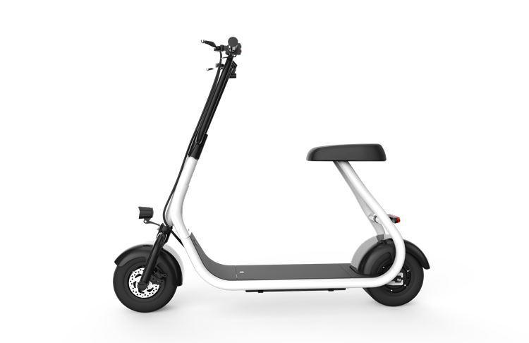ville scooter mini mod le avec batterie lithium ion de 48v 10 pouces gros pneu 30 kmh vitesse. Black Bedroom Furniture Sets. Home Design Ideas