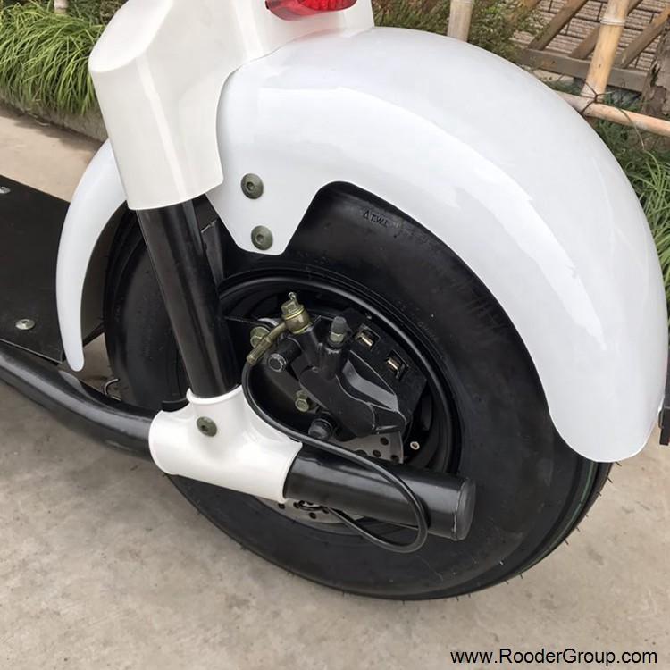 2 ratų suaugusiųjų elektrinis motoroleris su CE FCC RoHS sertifikavimo priekinis amortizatorius riebalų padangų 1000W varikliu 48V 60V 72V ličio baterija nuo Harley miesto kokoso gamintojo (15)