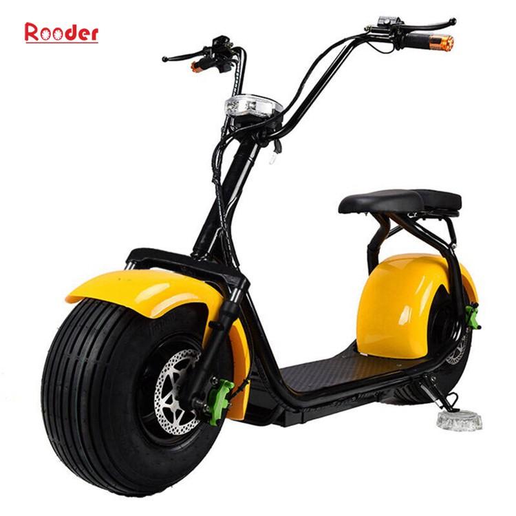 hindistancevizi Çin ucuz şehirden yetişkin için CE 1000w 60V lityum pil ve 2 büyük teker şişman lastik harley elektrikli scooter r804 harley elektrikli motosiklet bisiklet Rooder fabrika citycoco (5)