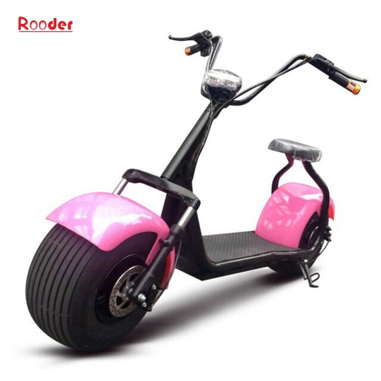 hindistancevizi Çin ucuz şehirden yetişkin için CE 1000w 60V lityum pil ve 2 büyük teker şişman lastik harley elektrikli scooter r804 harley elektrikli motosiklet bisiklet Rooder fabrika citycoco (1)