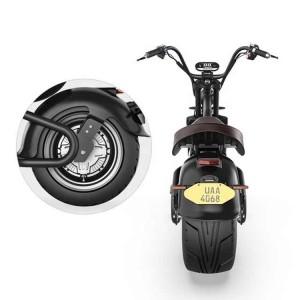 Elektroroller Harley Scooter Citycoco Elektroscooter COC EEC ROODER