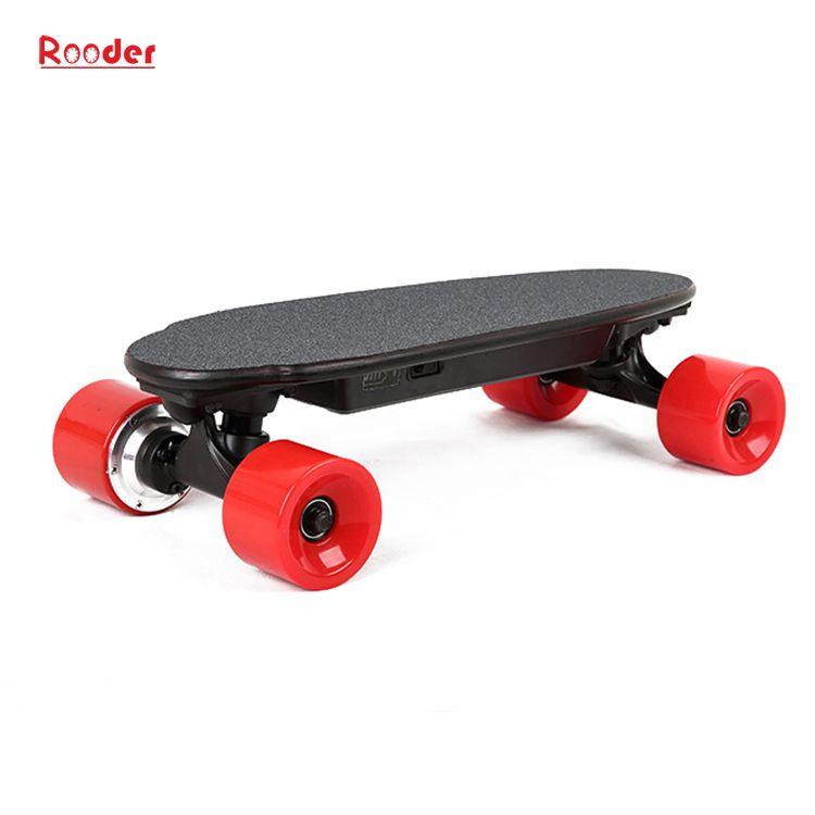 mini fire hjul elektrisk skateboard med 24v litiumbatteri 3kgs bare engros-pris fra Rooder fire hjul elektrisk rullebrett fabrikk Produsenten leverandør (7)