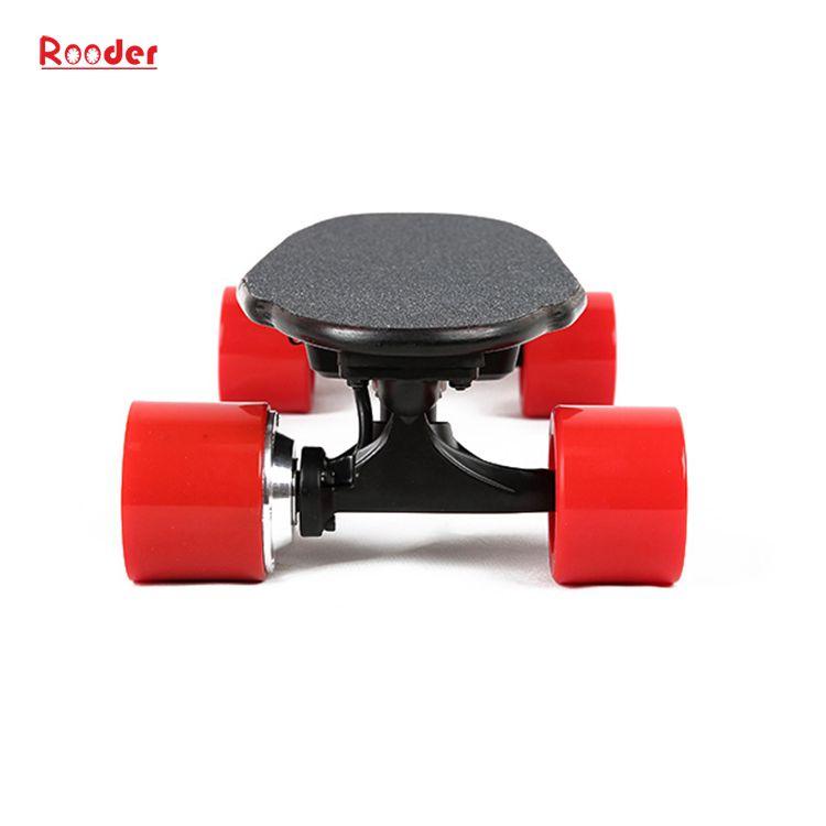 mini fire hjul elektrisk skateboard med 24v litiumbatteri 3kgs bare engros-pris fra Rooder fire hjul elektrisk rullebrett fabrikk Produsenten leverandør (4)