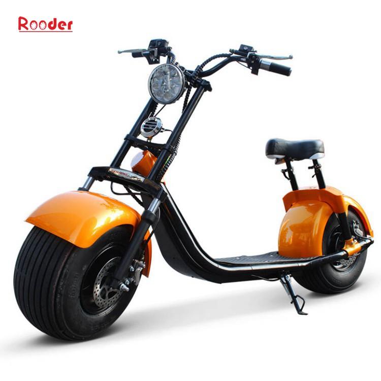 2 ratų suaugusiųjų elektrinis motoroleris r804b su CE FCC RoHS sertifikavimo priekinis amortizatorius riebalų padangų 1000W varikliu 48V 60V 72V ličio baterija nuo Harley Miestas kokoso gamintojo rodytas atvaizdo