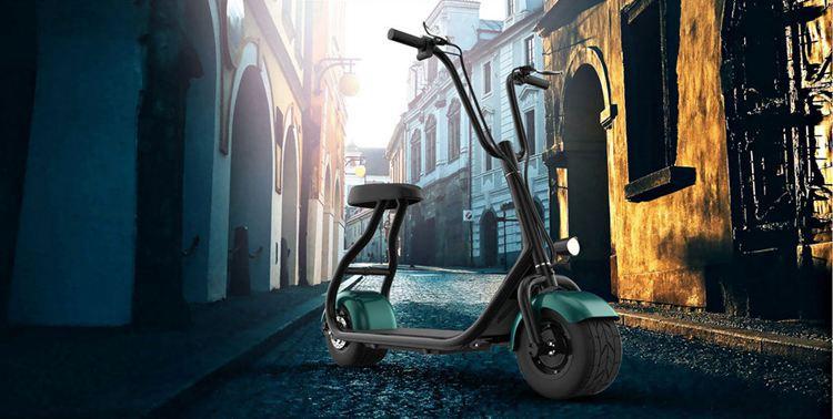 mini Harley liikkuvuutta skootterin r804m 350 W: n moottori 48 jännite litium-ioni-akku 35 km yhdellä latauksella 10 tuuman rasvaa renkaan 30 km tunnissa huippunopeus (15)