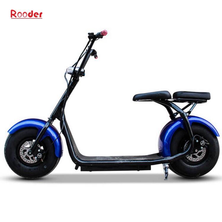hindistancevizi Çin ucuz şehirden yetişkin için CE 1000w 60V lityum pil ve 2 büyük teker şişman lastik harley elektrikli scooter r804 harley elektrikli motosiklet bisiklet Rooder fabrika citycoco (4)